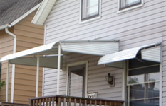 home awning installation picture